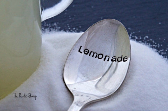 Lemonade | Stamped Iced Tea Spoon