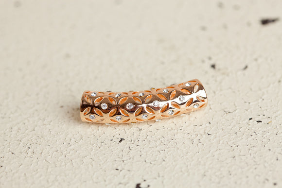Grace Charm - Rose Gold Bar