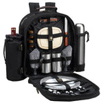 Deluxe Equipped 2 Person Picnic & Coffee Backpack