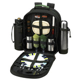 Deluxe Equipped 2 Person Picnic & Coffee Backpack -Eco Collection