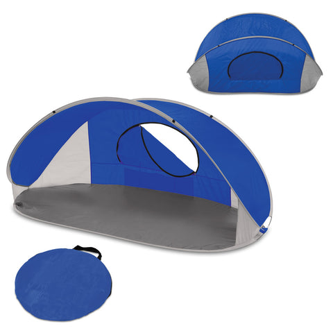 Manta Sun Shelter-Blue with grey accents