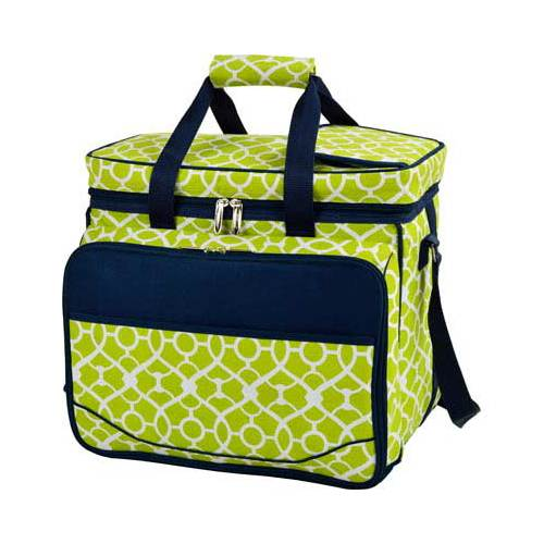 Deluxe Picnic Cooler for 4 - Trellis Green