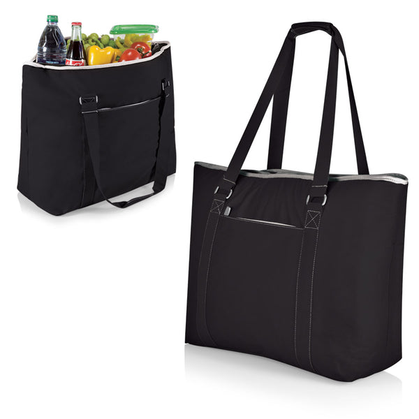 Tahoe-Black Oversized Cooler Tote