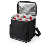 Cellar-6 Bottle Wine Tote-Black Empty