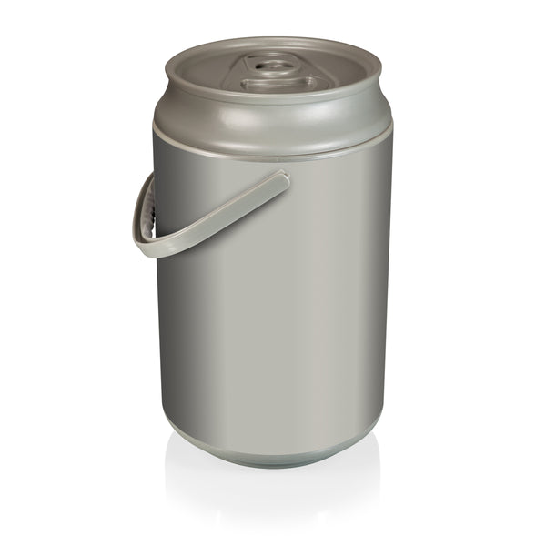 Mega Can Cooler-Silver Plastic 27 Can Capacity