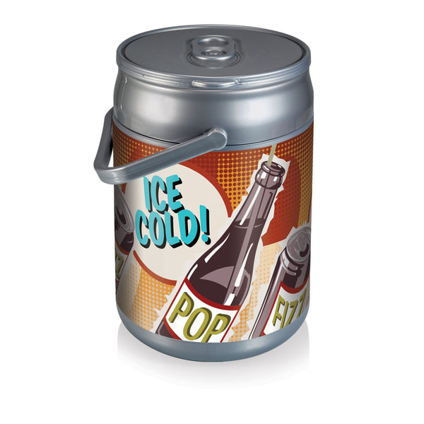 Can Cooler-Retro Pop 12 Can Capacity