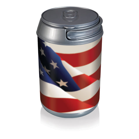 Mini Can Cooler- American Flag