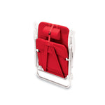 Monaco Beach Chair Backpack-Red