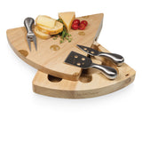 Swiss-Cheese Board W/Stainless Steel Tools