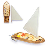 Sailboat-Cutting Board With Tools
