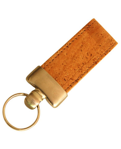 Natural Cork Key ring