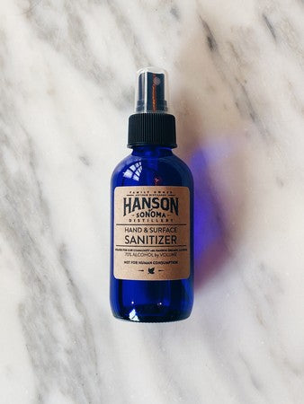 4oz Spray Hand Sanitizer - Hanson
