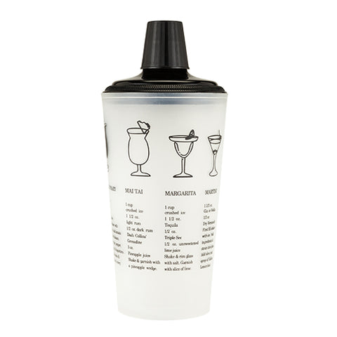 30oz. Black Recipe Shaker