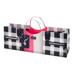 Black and Pink Fashion Wine Purse