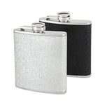 Sparkletini 6 oz Party Flask Assorted Black and Silver