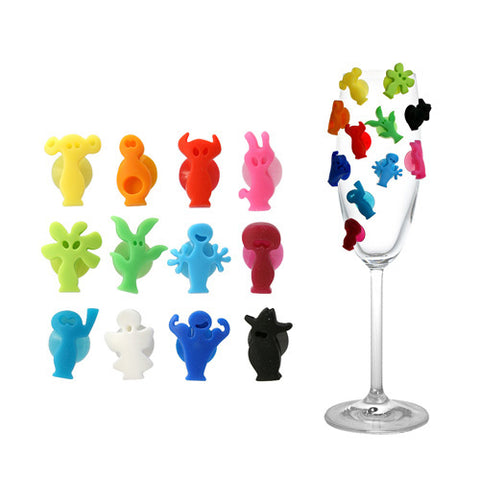 Vacu Vin Party People Charms
