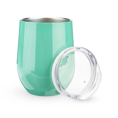 Sip & Go Stemless Wine Tumbler in Mint by True