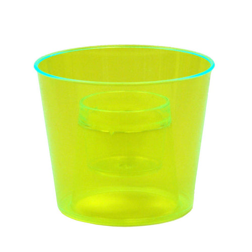 Bomber Cup, 4oz. Yellow Bg/20
