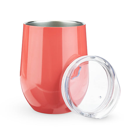 Sip & Go Stemless Wine Tumbler in Melon by True