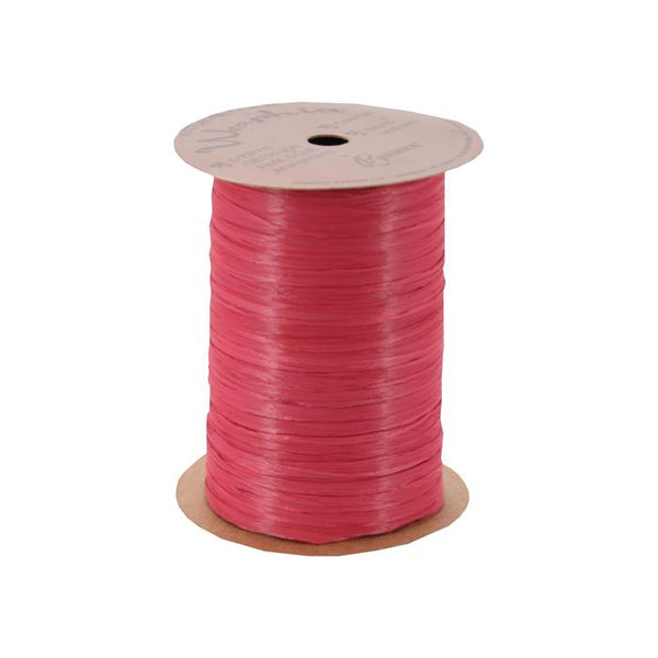Burgundy Wrapphia Spool