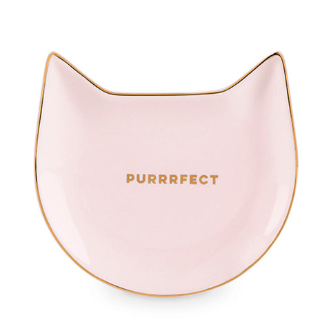 Purrrfect: Pink Cat Tea Tray