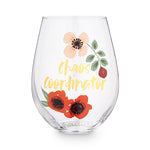Chaos Coordinator 30 oz Stemless Wine Glass by Blush®