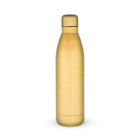 Comet: Gold Glitter Water Bottle