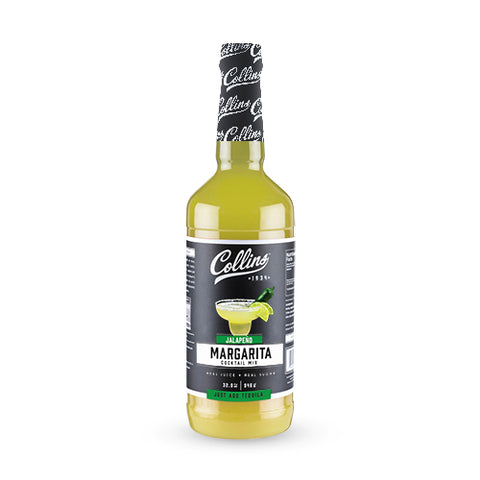 32 fl. oz Jalapeno Margarita Mix by Collins