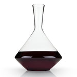 Raye Angled Lead Free Crystal Decanter by Viski