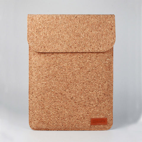 Soft Cork Sleeve Bag For Huawei Mate Book 11 Inch + Charger Bag
