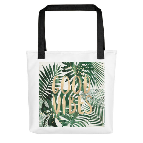 Good Vibes Tote Bag-Totes-The Royal Bash
