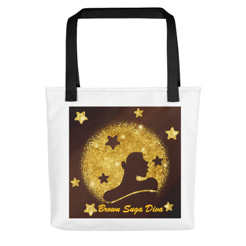 Brown Suga Diva Tote Bag-Totes-The Royal Bash