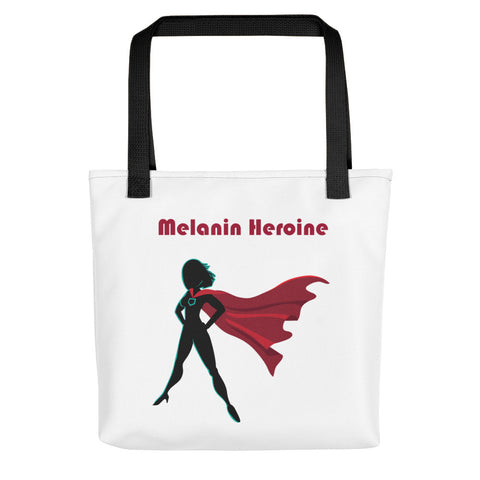 Melanin Heroine Tote Bag-Totes-The Royal Bash