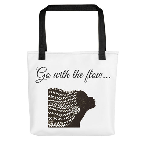 Go with the Flow Tote Bag-Totes-The Royal Bash