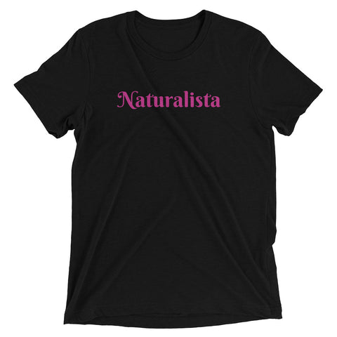 Naturalisa Tee in Black-T-shirt-The Royal Bash