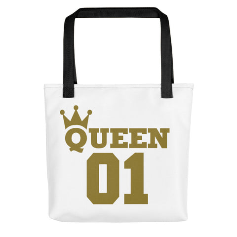Queen 01 Tote bag-Totes-The Royal Bash