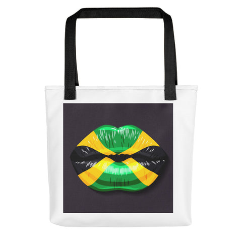 Jamaican Kiss Tote Bag-Totes-The Royal Bash