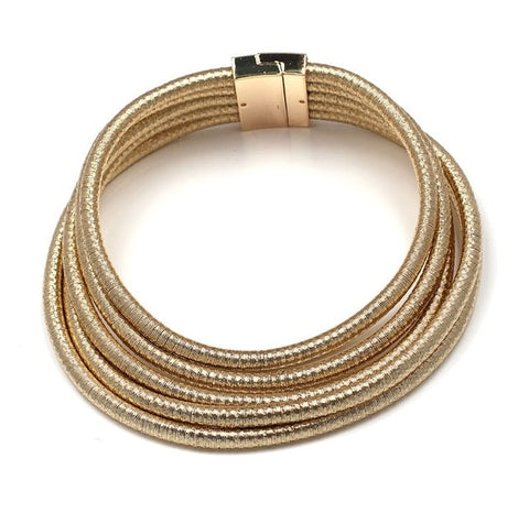 Coiled Rope Choker Necklace-Necklaces-The Royal Bash