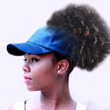 AFRO PUFF Cap-Caps-The Royal Bash