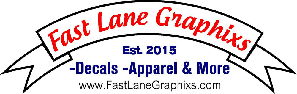 Be sure to check us out and contact us for any decal & apparel needs
