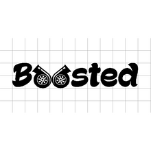 Fast Lane Graphix: Boosted V1 Sticker,White,stickers, decals, vinyl, custom, car, love, automotive, cheap, cool, Graphics, decal
