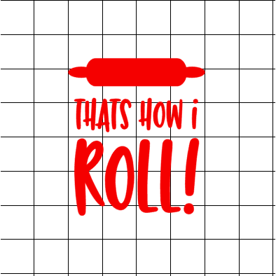 Fast Lane Graphix: That's How I Roll! Sticker,White,stickers, decals, vinyl, custom, car, love, automotive, cheap, cool, Graphics, decal