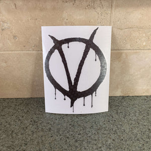 Fast Lane Graphix: V for Vendetta Sticker,Carbon Fiber, stickers, decals, vinyl, custom, car, love, automotive, cheap, cool, Graphics, decal, nice