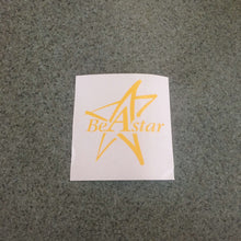 Fast Lane Graphix: Be A Star Sticker,Yellow, stickers, decals, vinyl, custom, car, love, automotive, cheap, cool, Graphics, decal, nice