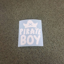 Fast Lane Graphix: Pirate Boy Sticker,White, stickers, decals, vinyl, custom, car, love, automotive, cheap, cool, Graphics, decal, nice