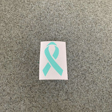 Fast Lane Graphix: Cancer Ribbon Sticker,Mint, stickers, decals, vinyl, custom, car, love, automotive, cheap, cool, Graphics, decal, nice