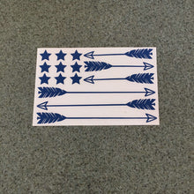 Fast Lane Graphix: Arrow Flag Sticker,Blue, stickers, decals, vinyl, custom, car, love, automotive, cheap, cool, Graphics, decal, nice
