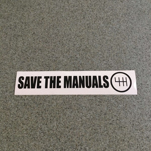 Fast Lane Graphix: Save The Manuals Stickers,Black, stickers, decals, vinyl, custom, car, love, automotive, cheap, cool, Graphics, decal, nice