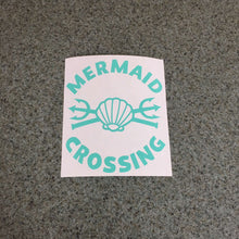 Fast Lane Graphix: Mermaid Crossing Sticker,Mint, stickers, decals, vinyl, custom, car, love, automotive, cheap, cool, Graphics, decal, nice