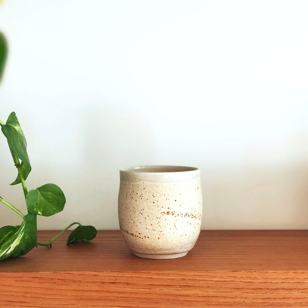 Earthy Pink Curved Tumbler by Galit Maxwell
